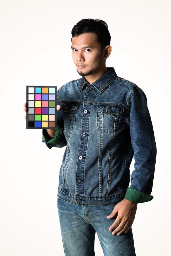 De correctie van de camerakleur stock fotografie