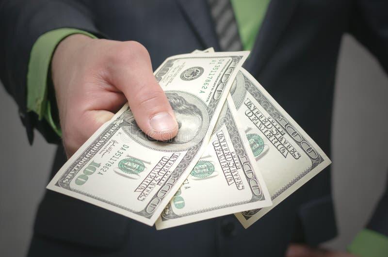 De corruptie steekpenning Financiële hulp Banklening royalty-vrije stock afbeelding