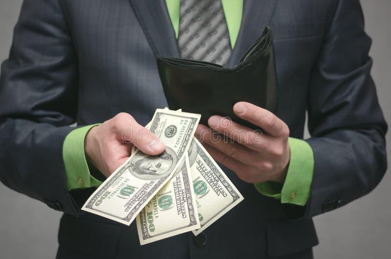 De corruptie steekpenning Financiële hulp Banklening royalty-vrije stock foto
