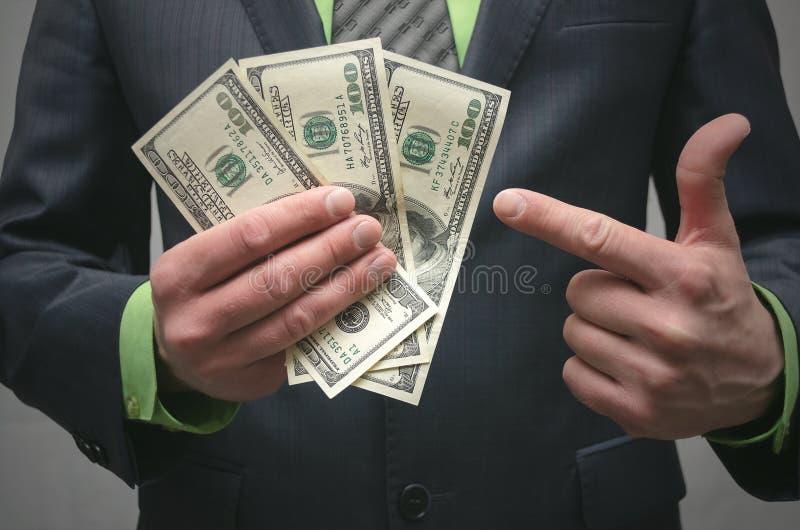De corruptie steekpenning Financiële hulp Banklening stock foto