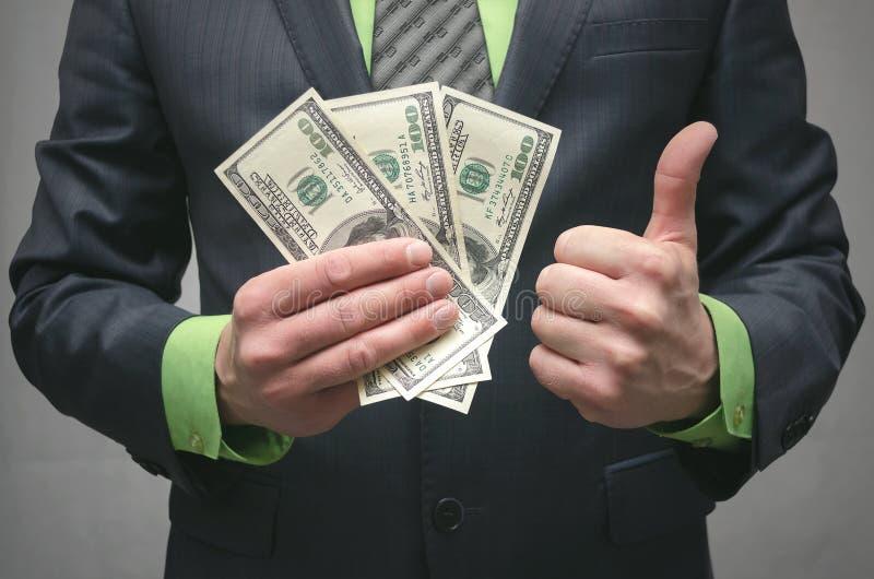 De corruptie steekpenning Financiële hulp Banklening stock fotografie