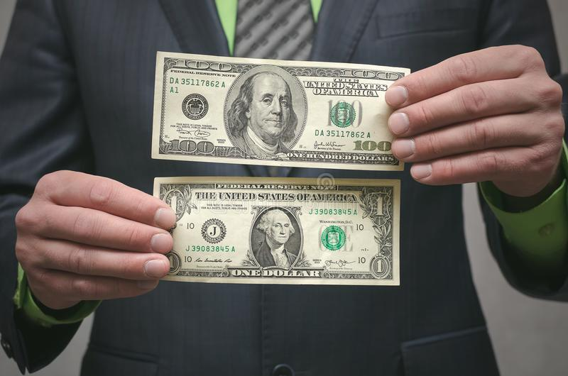 De corruptie steekpenning Financiële hulp Banklening stock foto's
