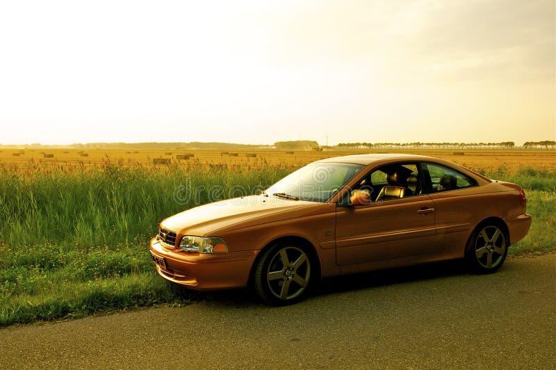 De Coupé van Volvo C70 stock foto