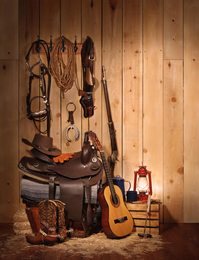 De cowboy toujours durée photos stock