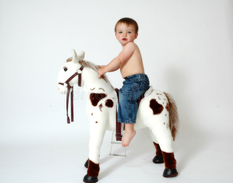 De Cowboy van de baby royalty-vrije stock afbeelding