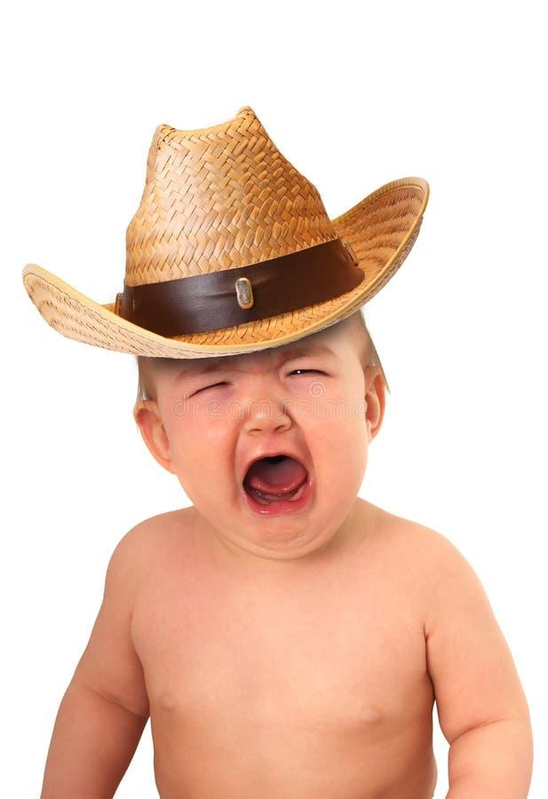 De cowboy van de baby royalty-vrije stock afbeeldingen