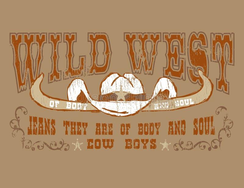 De cowboy van het ontwerp