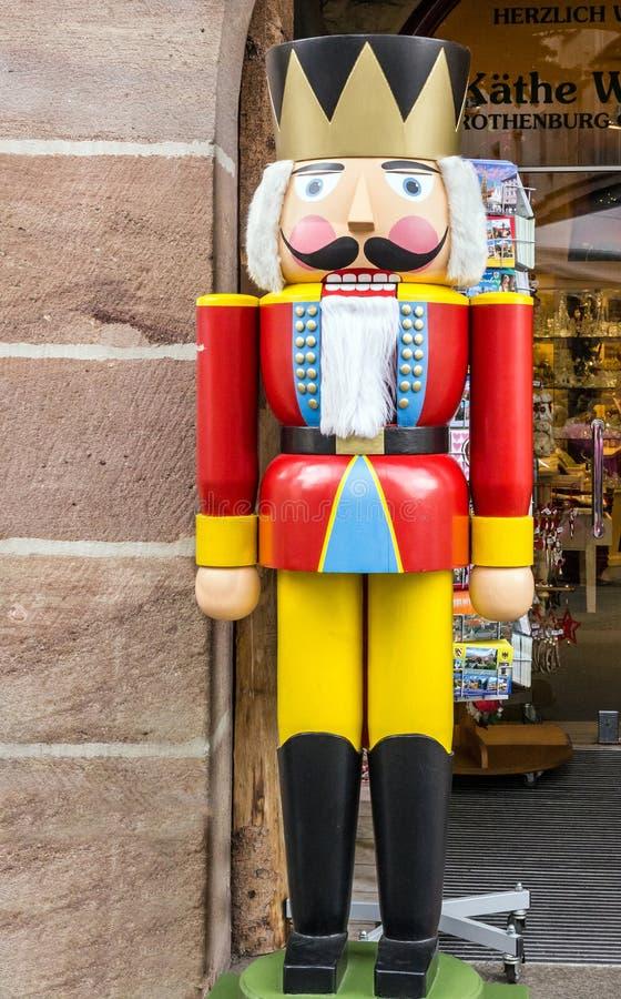 De Crackermilitair van de Kerstmisnoot, Duitsland stock fotografie