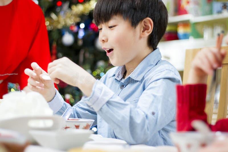 De Crackers van de Kerstmisgarnaal royalty-vrije stock foto's