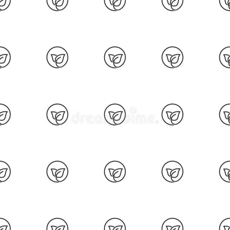 De creatieve, abstracte ronde doorbladert pictogramachtergrond stock illustratie