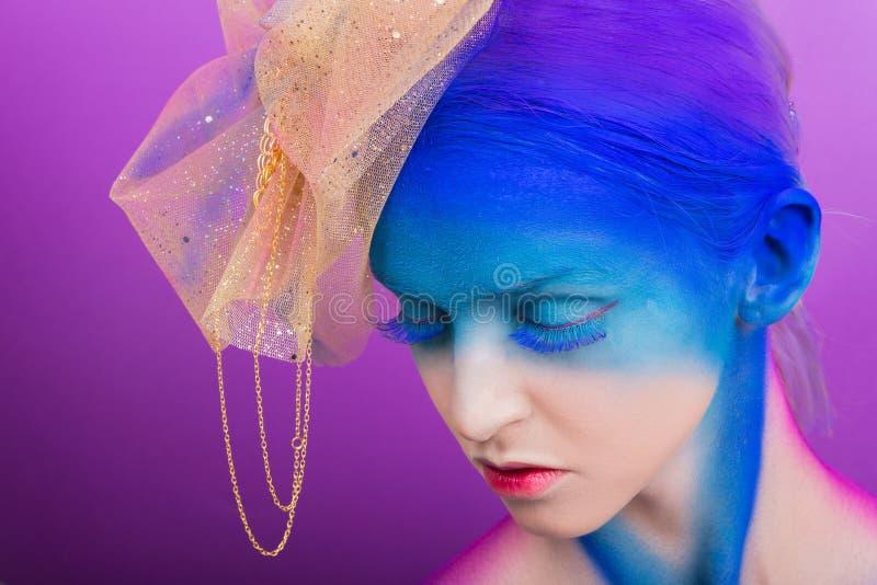 De creatieve make-up royalty-vrije stock foto's