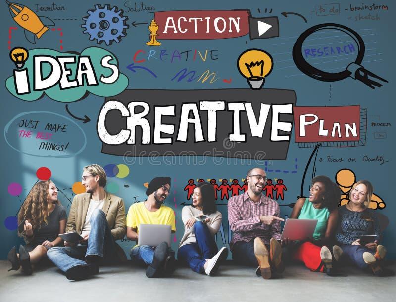 De creatieve Ontwerpinnovatie inspireert Concept royalty-vrije stock fotografie
