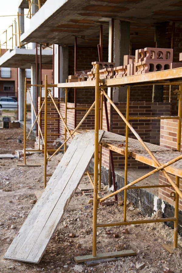 De crisis van de bouw, Spanje stock foto's