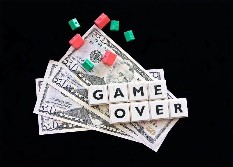 De crisis van Hypothec royalty-vrije stock fotografie