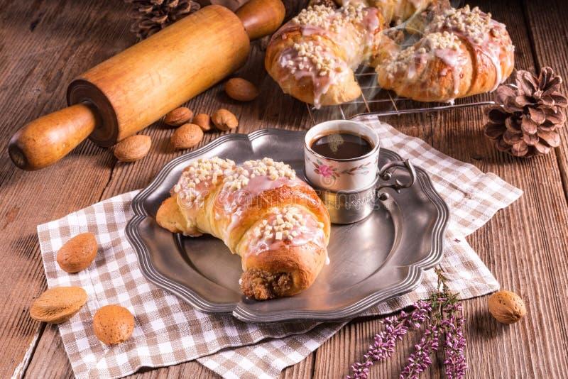 De croissants van Martin van Poznan royalty-vrije stock fotografie