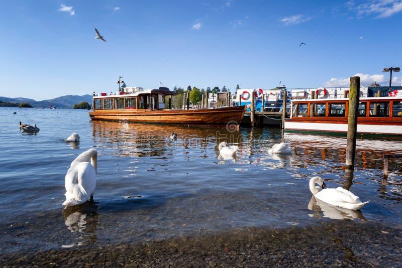De cruise Engeland van het meerdistrict royalty-vrije stock foto's
