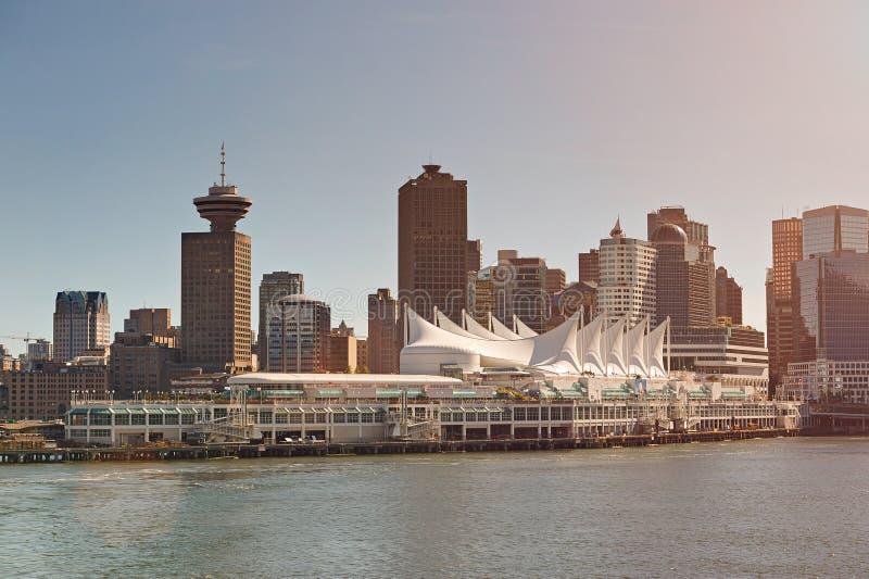 De Cruisehaven van Vancouver stock foto