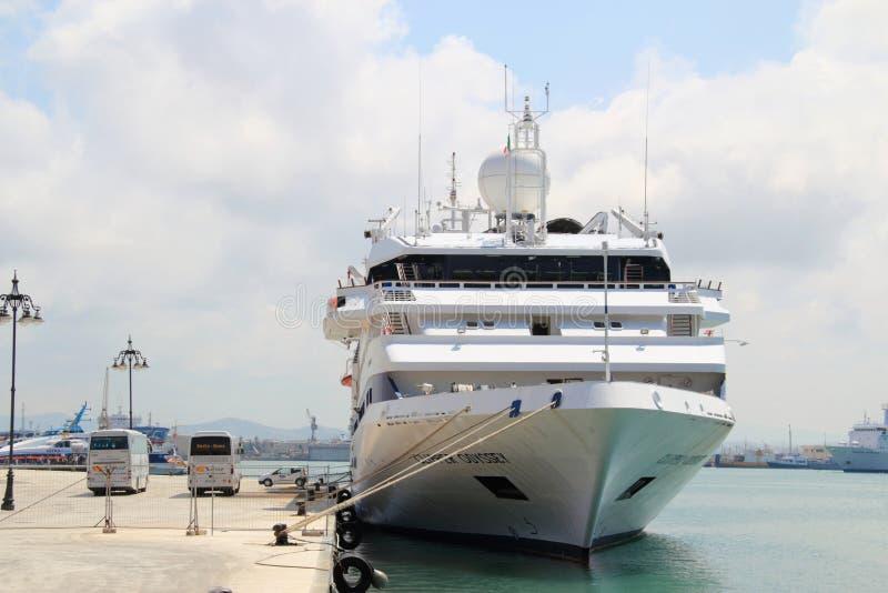 De cruiseschip van de luxe royalty-vrije stock afbeeldingen