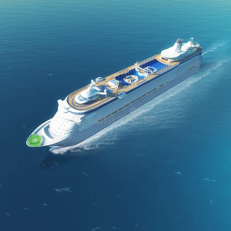 De cruiseschip van de luxe royalty-vrije stock foto's