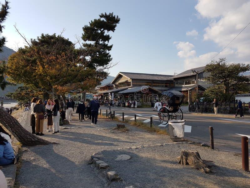 De cultuur van Kyoto, Japan royalty-vrije stock afbeelding