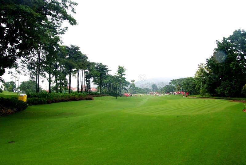 De cursus van het golf royalty-vrije stock afbeeldingen