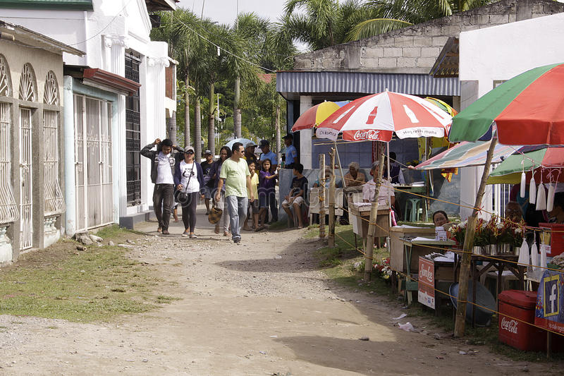 De Dag November van al Ziel 1 Filippijnen stock fotografie
