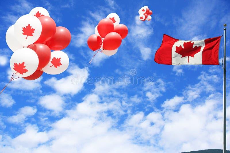 De Dag van Canada stock afbeeldingen