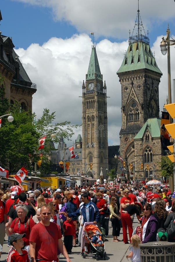 De Dag van Canada in Ottawa royalty-vrije stock fotografie