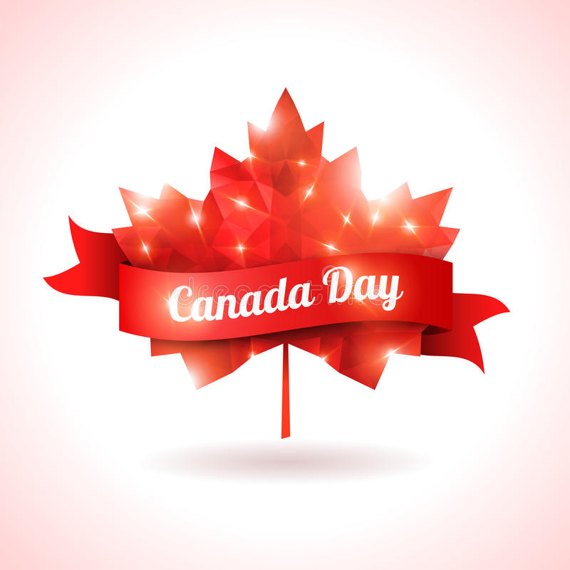 De dag van Canada, vectorillustratie vector illustratie