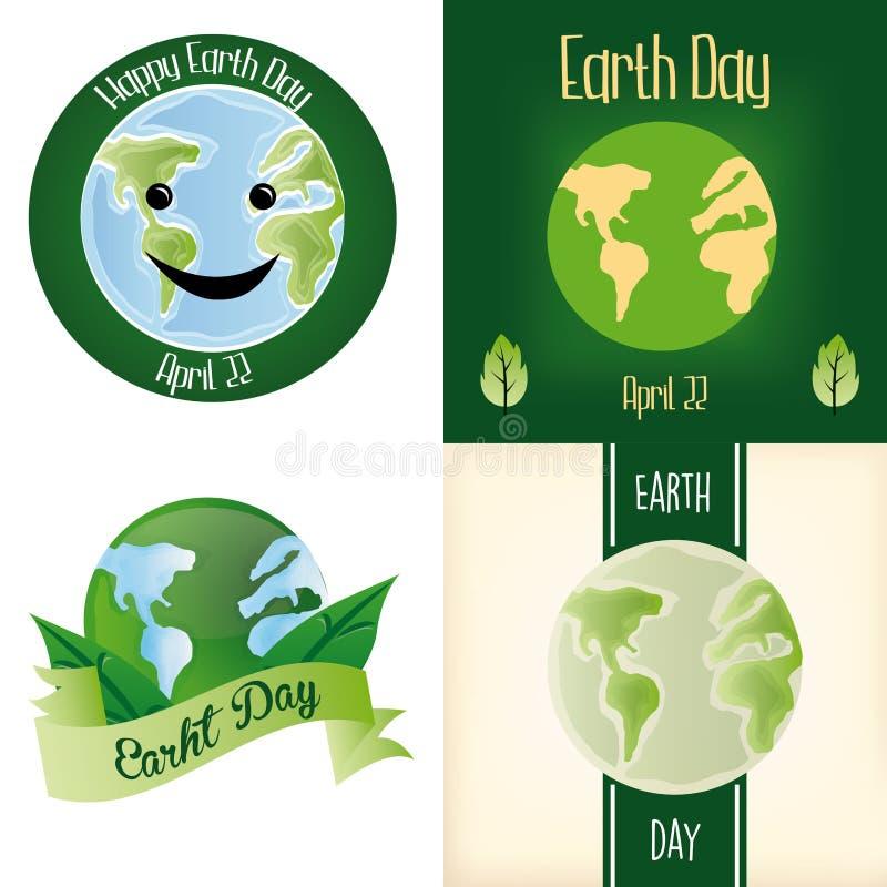 De Dag van de aarde stock illustratie