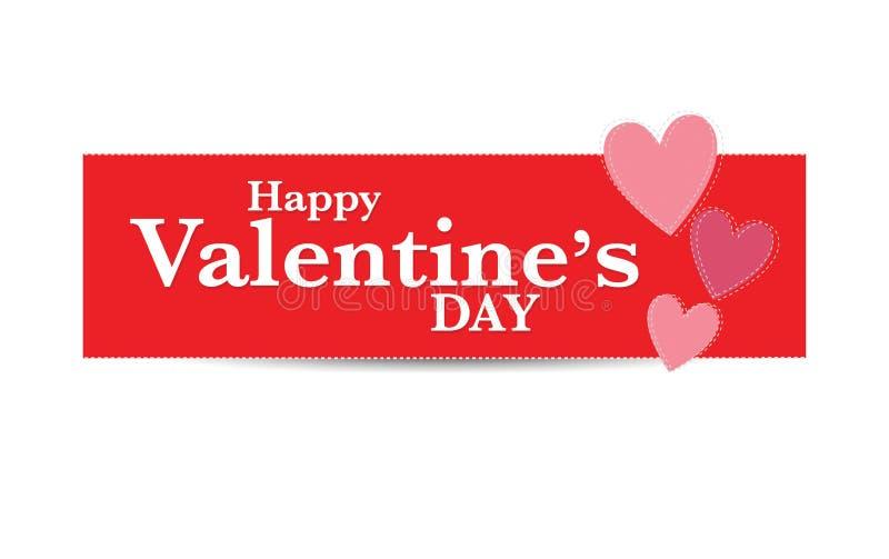 Download De Dag Van De Gelukkige Valentijnskaart Stock Illustratie - Illustratie bestaande uit illustratie, ontwerp: 54093112