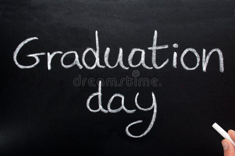 De dag van de graduatie. royalty-vrije stock afbeeldingen