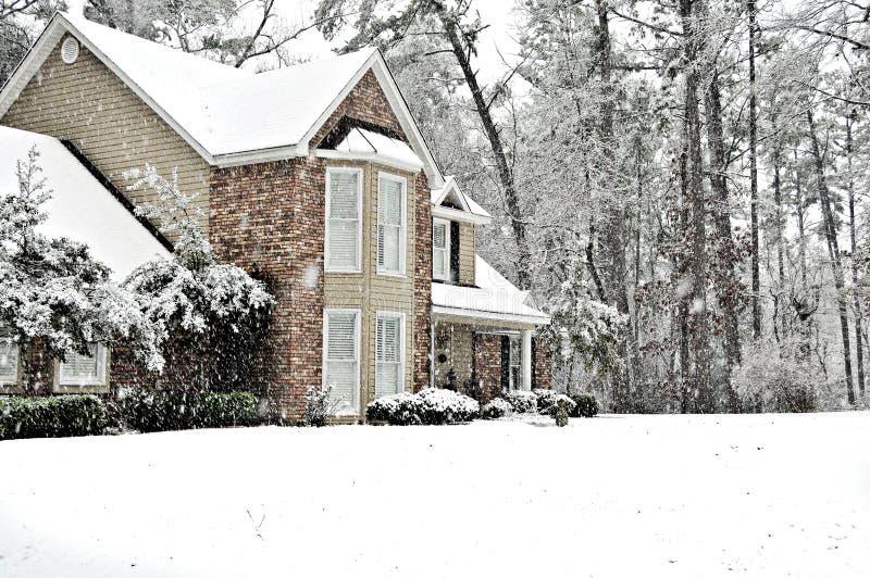 De Dag van de sneeuw stock fotografie