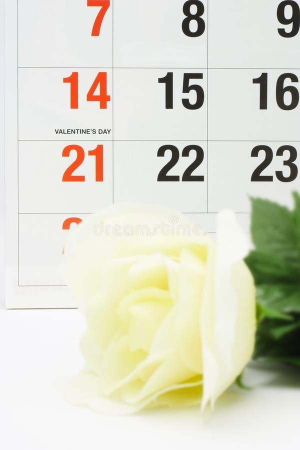 De dag van de valentijnskaart; royalty-vrije stock foto