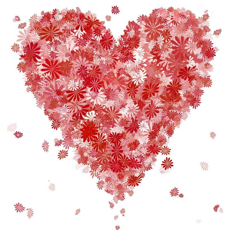 De dag van de valentijnskaart stock illustratie