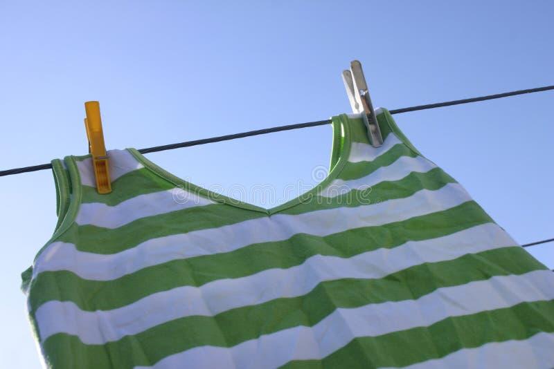 Download De Dag van de was stock afbeelding. Afbeelding bestaande uit kleding - 49859