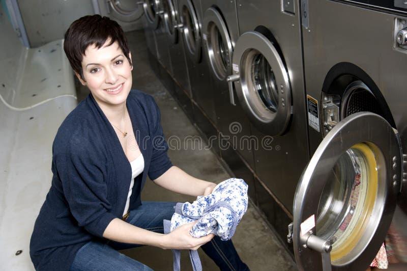 De Dag van de wasserij royalty-vrije stock afbeeldingen