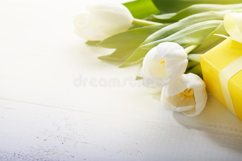 8 de dag van de gelukkige vrouwen van Maart royalty-vrije stock afbeeldingen