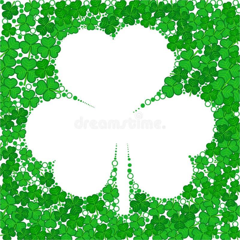 De dag van heilige Patrick stock illustratie