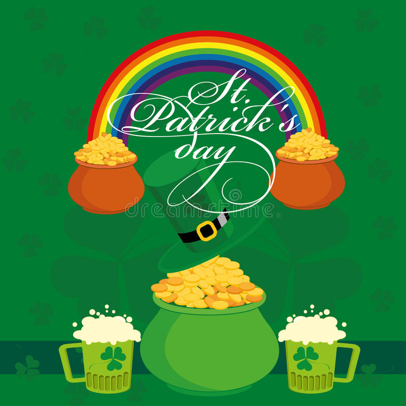 De Dag van heilige Patricks vector illustratie