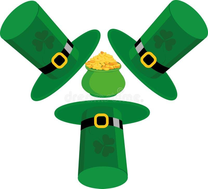 De Dag van heilige Patricks stock illustratie