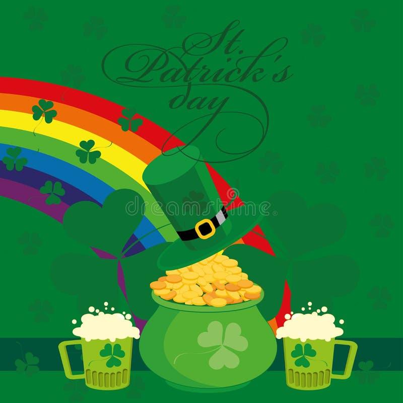De Dag van heilige Patricks royalty-vrije illustratie