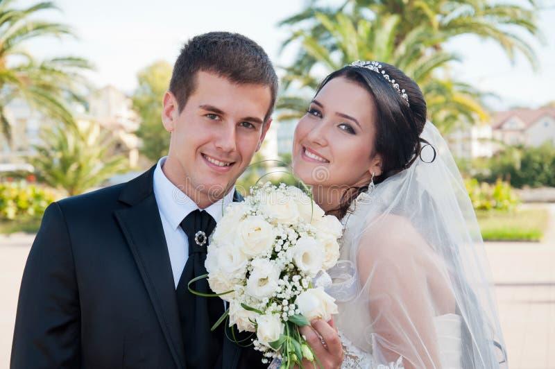 De dag van het huwelijk. stock afbeelding