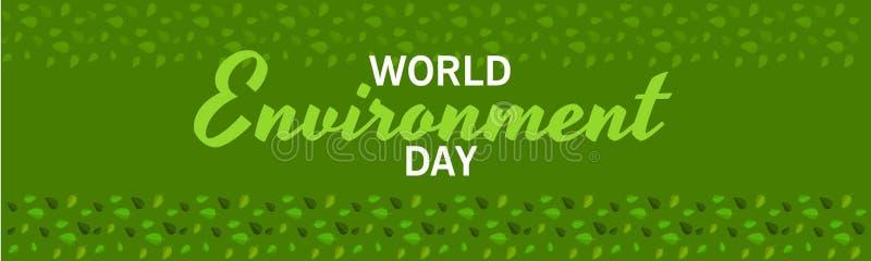 De Dag van het Milieu van de wereld stock afbeelding