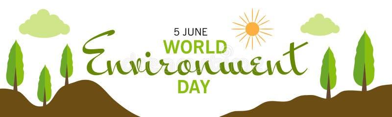 De Dag van het Milieu van de wereld royalty-vrije stock foto's