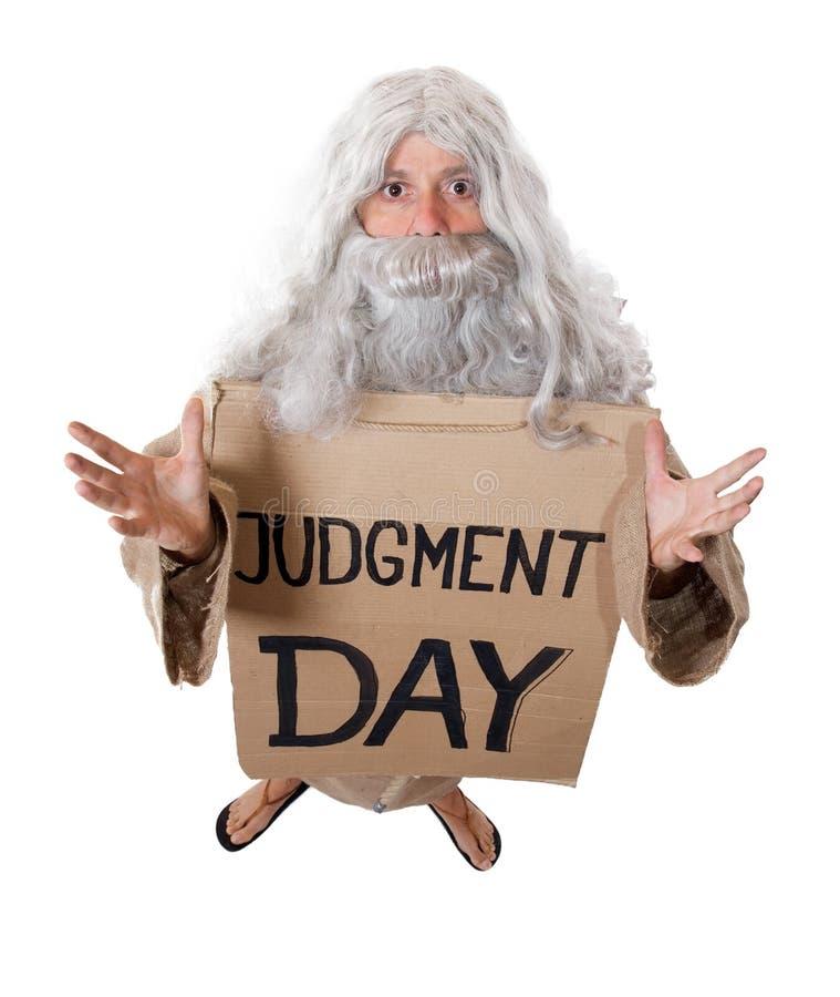 De dag van het oordeel stock afbeelding