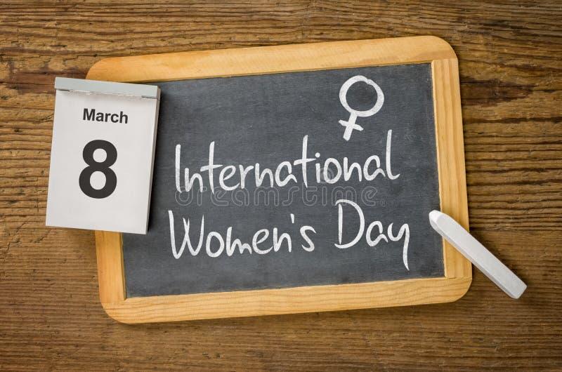 De Dag van internationale Vrouwen royalty-vrije stock foto's
