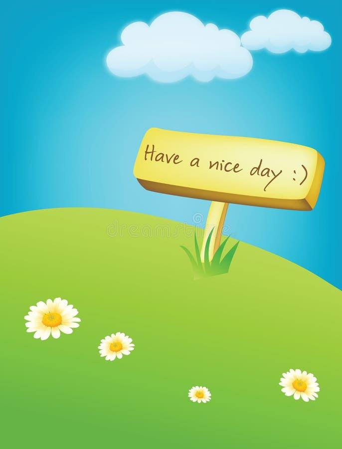 De dag van Nice stock fotografie
