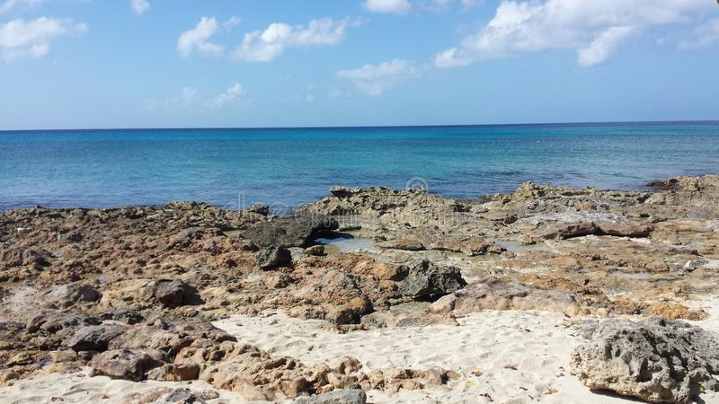 De dag van Nice bij het strand royalty-vrije stock afbeeldingen
