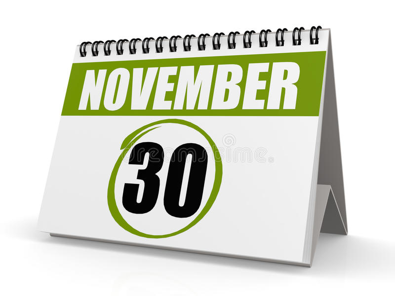 30 de Dag van November St Andrew s vector illustratie